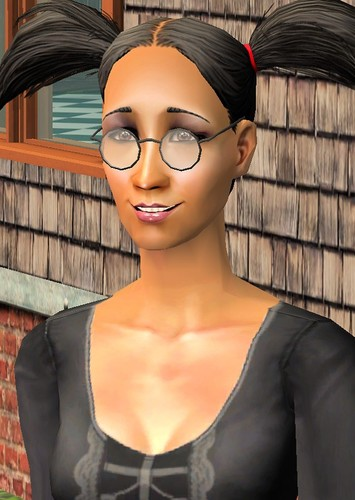 Cassandra Goth in The Sims: Bustin Out