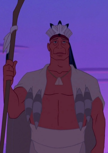 Chief Powhatan in Pocahontas