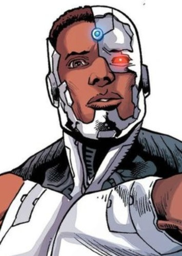 Cyborg in The Flashpoint Paradox. (2022)
