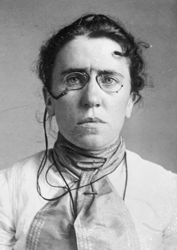 Emma Goldman in American Crime Story: The Assassination of William McKinley