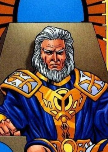 Highfather in Justice League: The New Gods