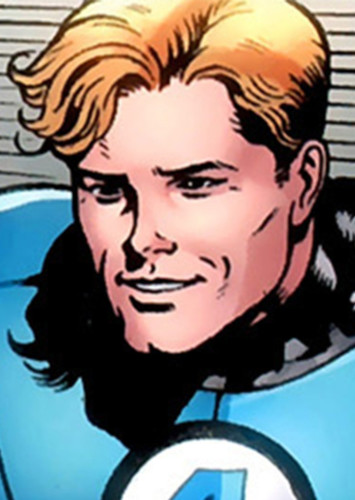 Johnny Storm in The Fantastic Four