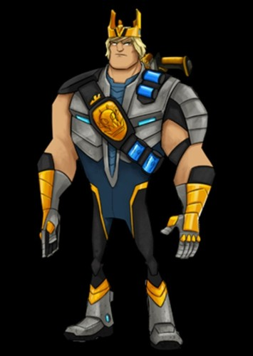 King Sling in Slugterra (Live Action Season 1).