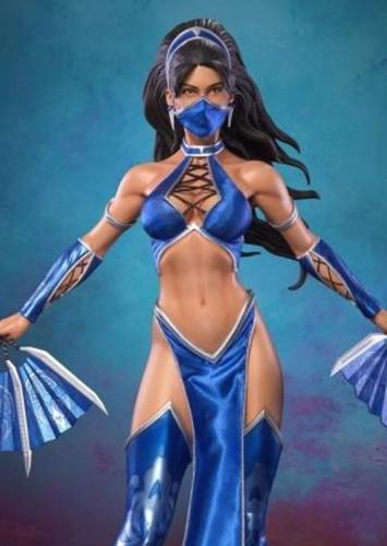 Fan Casting Jing Tian as Kitana in Mortal Kombat 2021