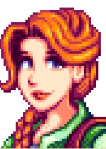 Leah in Stardew Valley