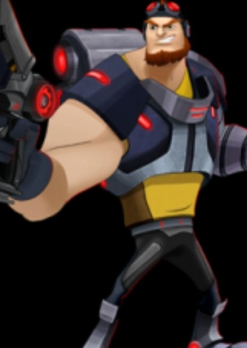 Locke in Slugterra (Live Action Season 1).