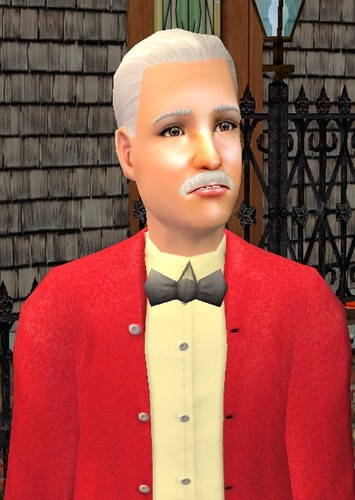Mortimer Goth in The Sims: Bustin Out