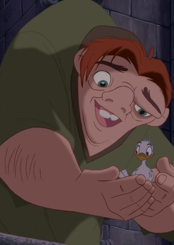 Quasimodo in The Hunchback of Notre Dame (Live Action)