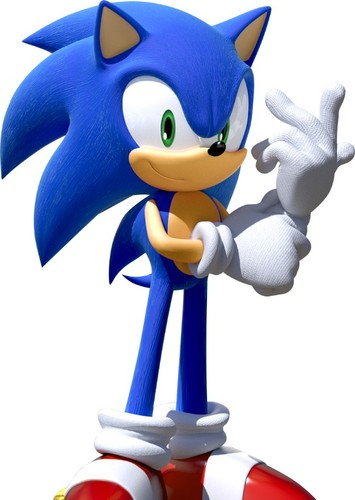 Sonic the Hedgehog in The Smash Cast
