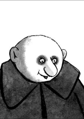 Uncle Fester in The Addams Family