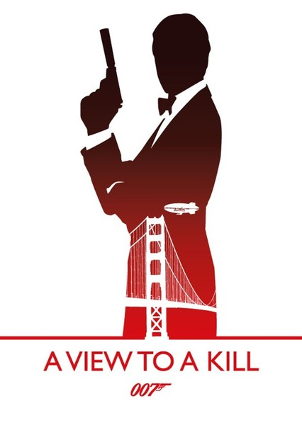 007 A View To A Kill  Fan Casting Poster