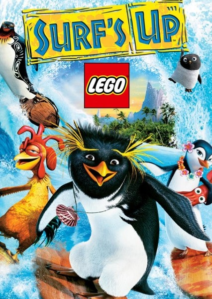 The LEGO Surf's Up Movie Fan Casting Poster