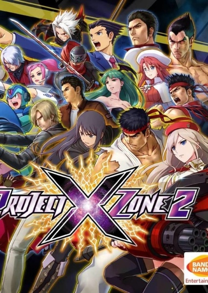 Project X-Zone Fan Casting Poster