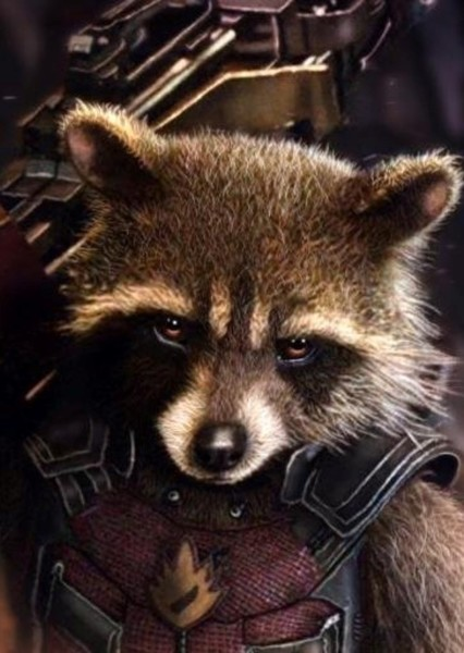 Rocket Raccoon (Guardians of The Galaxy) Spinoff Fan Casting Poster