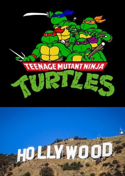 Teenage Mutant Ninja Turtles Go Hollywood!