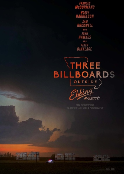 Three Billboards Outside Ebbing, Missouri (2007) Fan Casting Poster