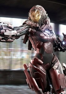 Genderswapped Iron Man