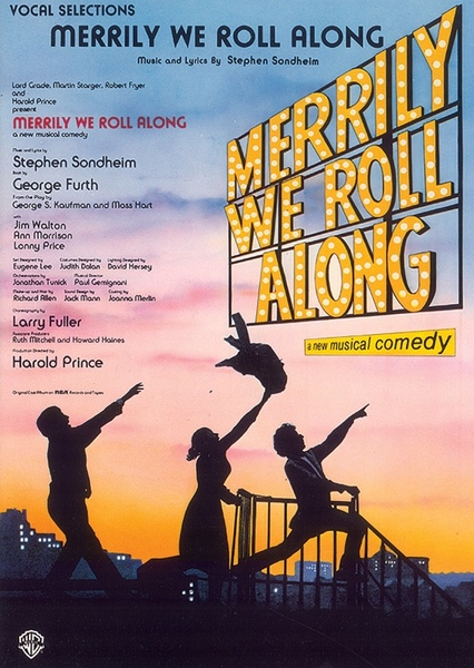 Merrily We Roll Along Fan Casting Poster