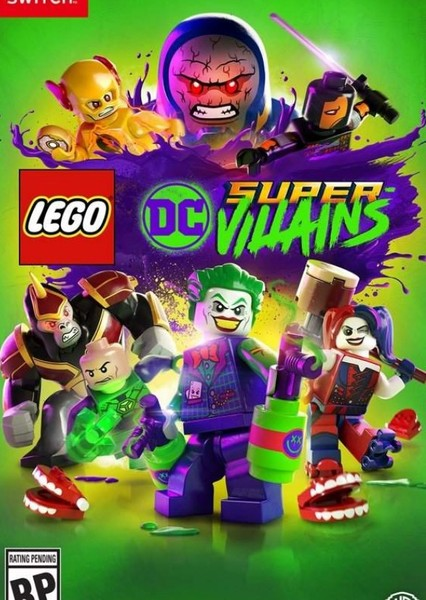 The LEGO DC Villains Movie Fan Casting Poster