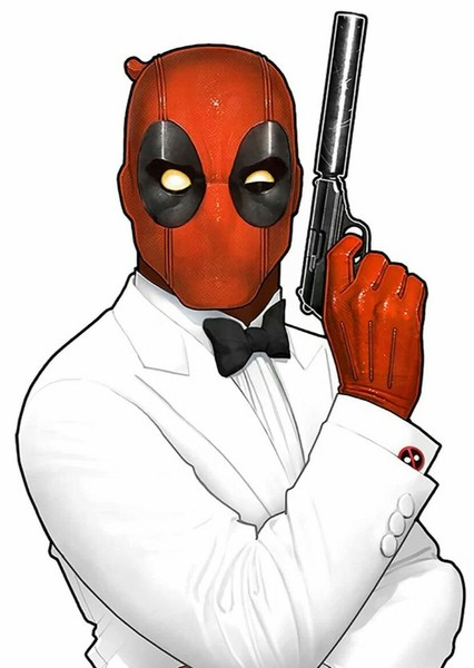 Secret Agent Deadpool Fan Casting Poster