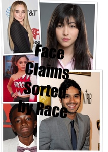 Face Claim Ideas Sorted by Race
