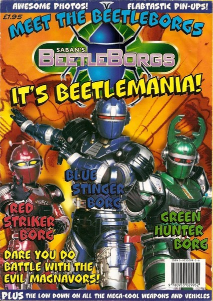 Big Bad Beetleborgs: The All New Series Fan Casting Poster
