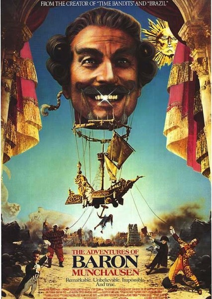 The Adventures of Baron Munchausen Fan Casting Poster