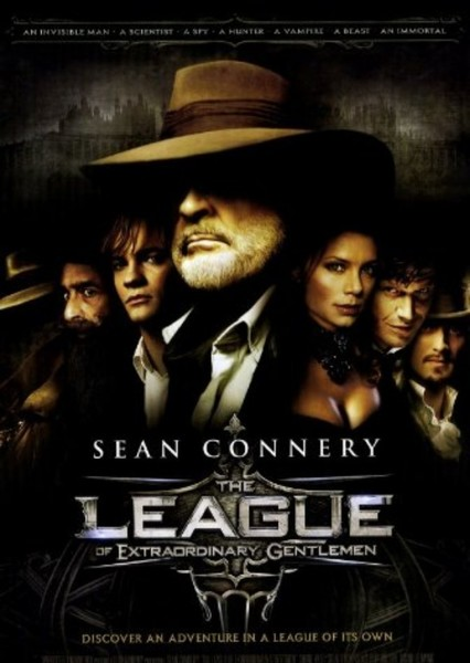 LXG (League of Extraordinary Gentlemen) Fan Casting Poster