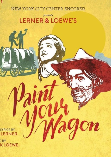 Paint Your Wagon Fan Casting Poster