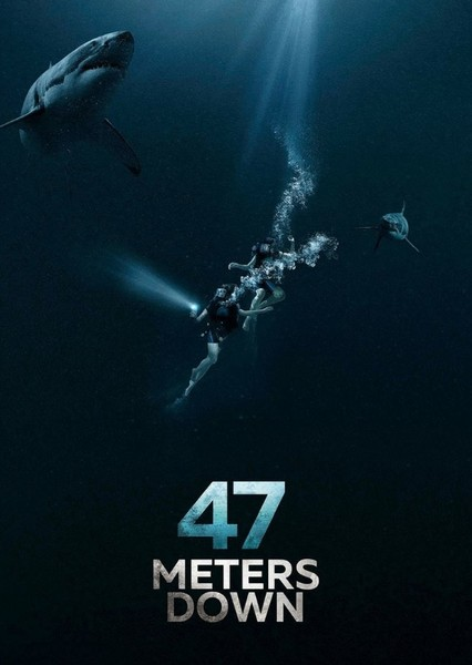 47 Meters Down (1980s) Fan Casting Poster