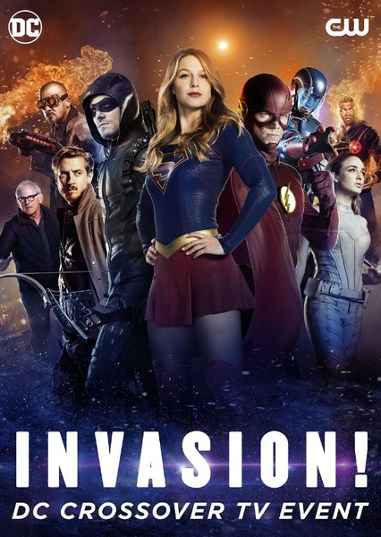 Invasion! (Arrowverse) Fan Casting Poster