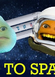 Annoying Orange In SPACE!!!