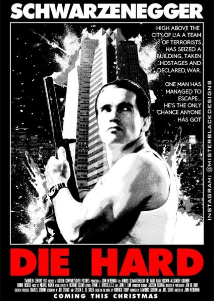 Die Hard (Different Cast) Fan Casting Poster