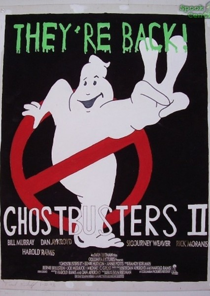 Ghostbusters 2 ( Remake With Male Cast ) Fan Casting Poster