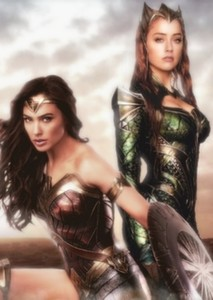 Mera and Wonder Woman