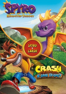 Spyro the Dragon and Crash Bandicoot