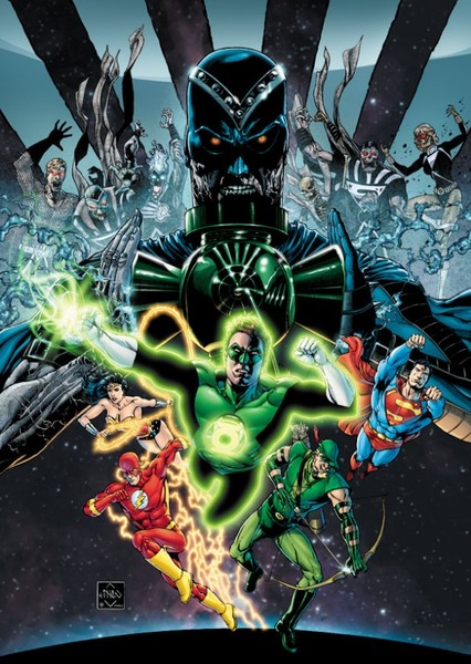 Blackest Night (Arrowverse) Fan Casting Poster