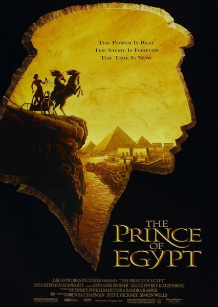 The Prince of Egypt (Gender Swap) Fan Casting Poster