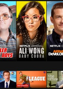 Face Claims Sorted by Netflix Shows and Movies