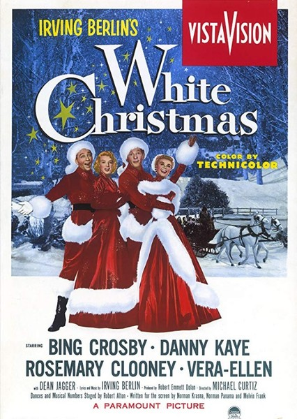White Christmas Fan Casting Poster