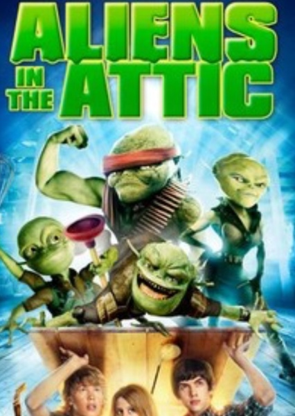 Aliens in the Attic (2019)