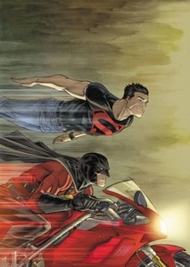 Superboy and Red Robin