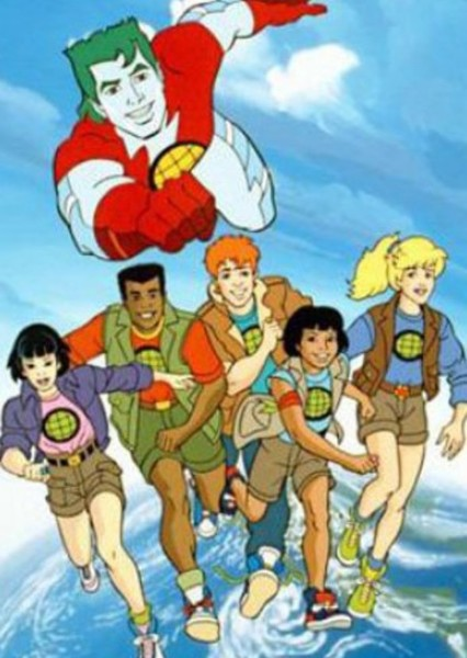Captain Planet and the Planeteers Fan Casting Poster