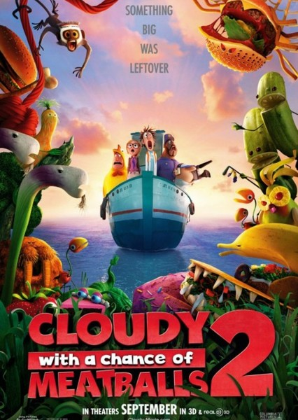 Cloudy with a Chance of Meatballs 2 (2000's) Fan Casting Poster