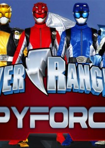 Power Rangers Spy Force