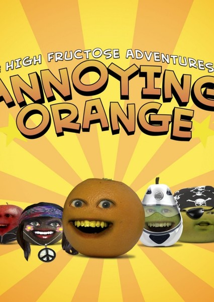 Annoying Orange's Adventures In Space Fan Casting Poster
