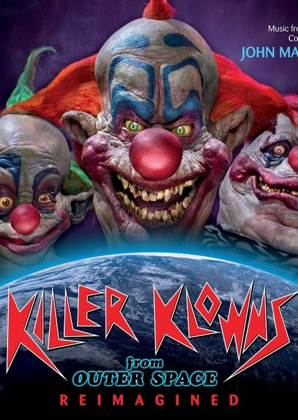Killer Klowns from Outer Space Fan Casting Poster