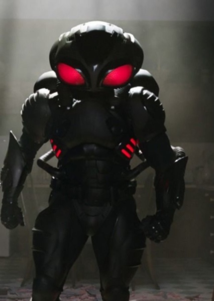 Black Manta Spin off Fan Casting Poster