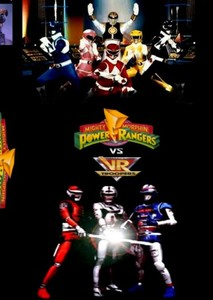 Mighty Morphin Power Rangers vs VR Troopers
