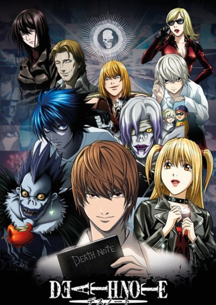 Death Note (The REAL & TRUE Death Note) Fan Casting Poster